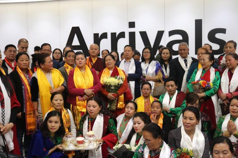 Welcoming Our Holy Respected Khenpo Guru In UK On 14th May 2018