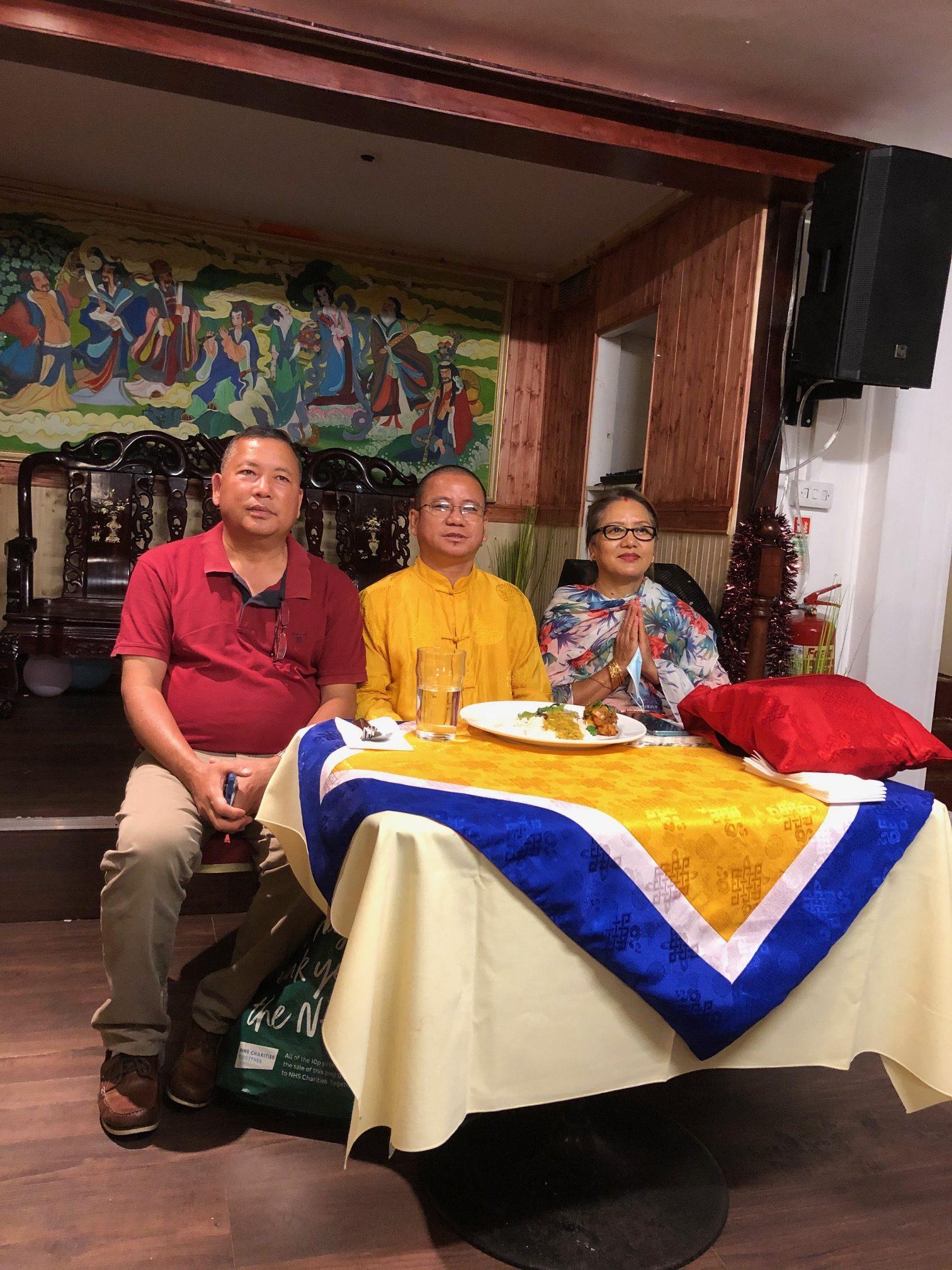 Khenpo Dashrath Guru Farewell News